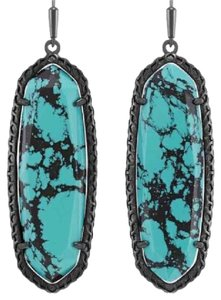 Kendra Scott RARE! Variegated Teal Lauren NWT