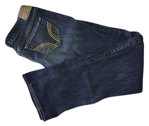 Hollister Boot Cut Jeans-Dark Rinse