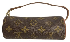 Louis Vuitton Pouch Wristlet in Brown