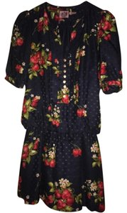 Juicy Couture short dress Regal Silk Print on Tradesy
