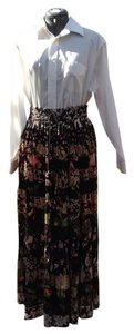 Hot Date Maxi Skirt Black, Multi Colors