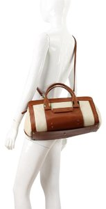 Chloé Chloe Alice Handbag In Satchel in Luggage and White