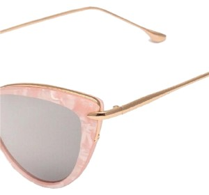 Other Pink Cat Eye & Gold Rims Sunglasses
