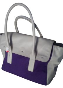 tila march paris Satchel in White purple