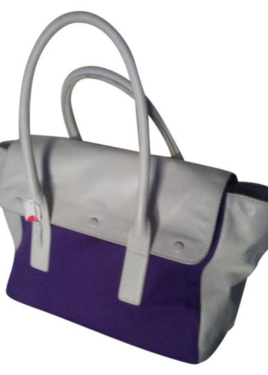 Tila march paris Satchel in White purple Image 0