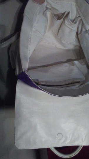 Tila march paris Satchel in White purple Image 5