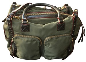 MZ Wallace Satchel in army green