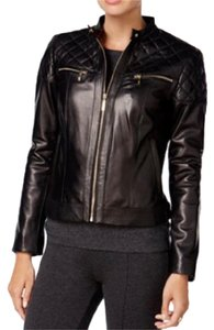 Cole Haan leather Leather Jacket