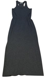 charcoal gray Maxi Dress by Madewell