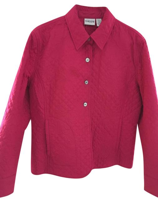 Preload https://img-static.tradesy.com/item/20529430/chico-s-pink-quilted-spring-jacket-size-8-m-0-2-650-650.jpg