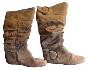 Dirty Laundry Taupe Boots