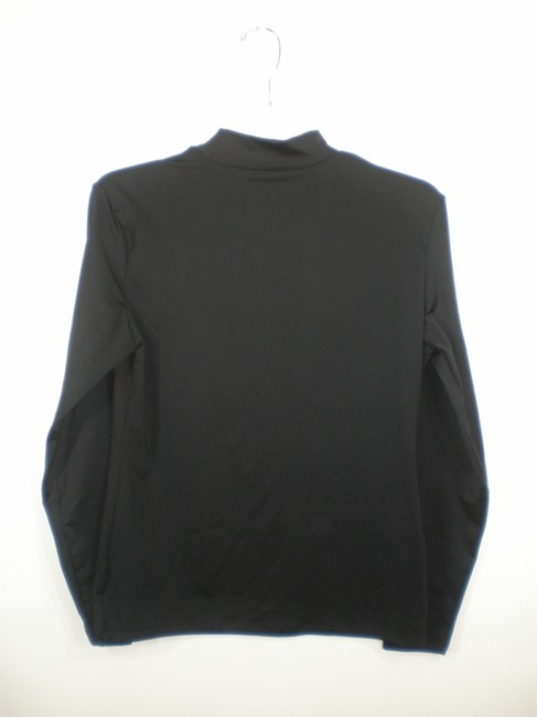 Champion Black Mock Neck Ski Top Image 1