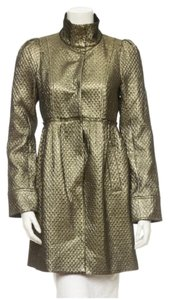 Alice + Olivia Gold Jacket