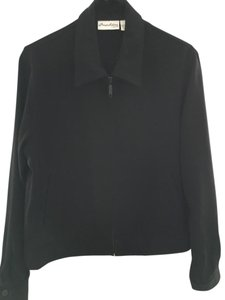 Chico's Zippered black Jacket