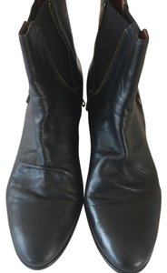 Sam Edelman Distressed Spring Rocker Black Boots