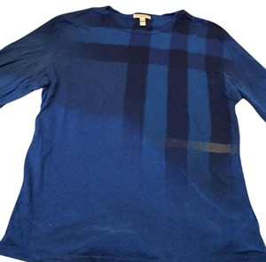 Burberry T Shirt Blue indigo