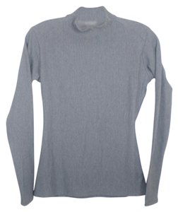 Under Armour Grey Compression Winter Mock Neck
