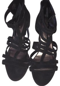 Nine West Black suede Sandals