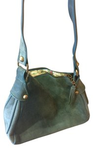Gap Leather Suede Boho Hobo Bag