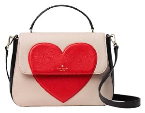 Kate Spade Colorblock Red Black Pxru7406 Satchel