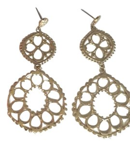 Stella & Dot Katya Chandelier Earrings Gold