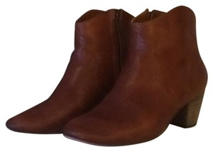 Isabel Marant Cognac (intentional distressing on leather) Boots