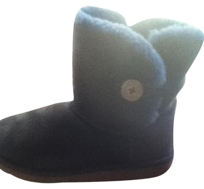 Item - Blue Boots/Booties Size US 4 Narrow (Aa, N)