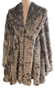 Free People Faux Fur Fur Winter Size Medium Fur Coat