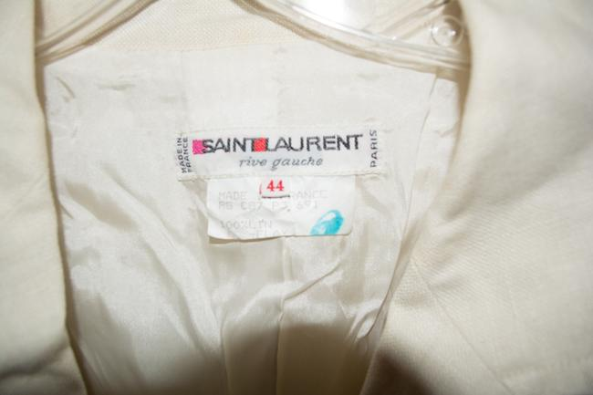 Saint Laurent Yves Cream Jacket Image 1