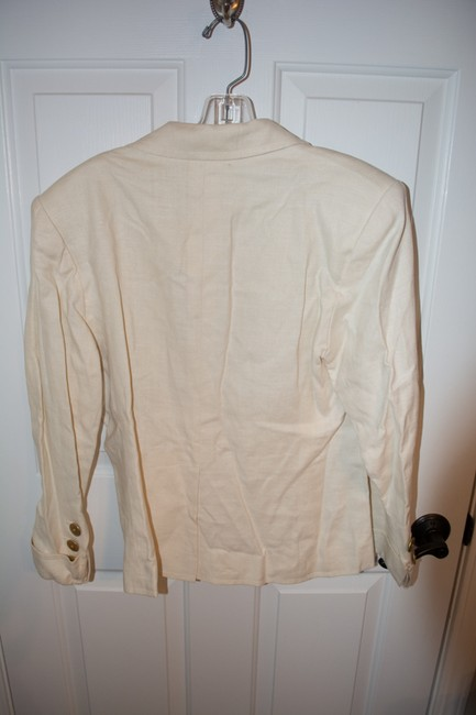 Saint Laurent Yves Cream Jacket Image 2