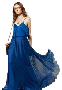 Royal Blue Maxi Dress by Halston