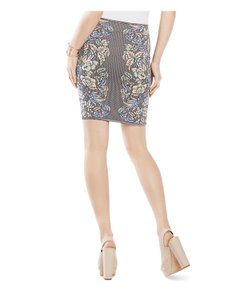 BCBGMAXAZRIA Pavel Medium Mini Skirt Bare Pinkco