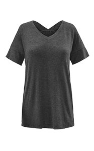 CAbi Blouse T Shirt Healther Black