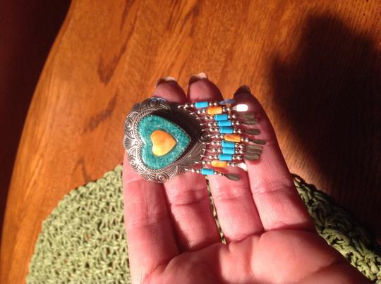 Other Southwestern Sterling silver pin Image 2