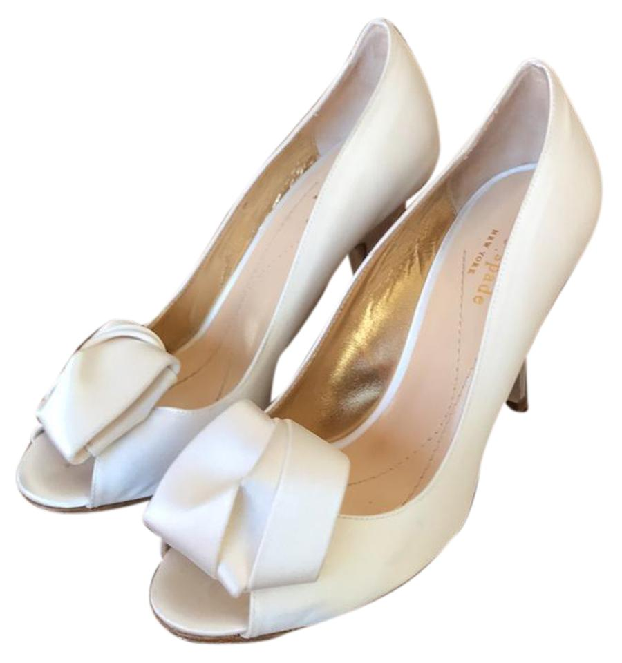 36a5f70a050a Kate Spade White Clarice Formal Shoes Size US 7 Regular (M