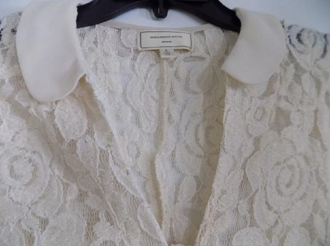 Anthropologie Top Ivory Image 4