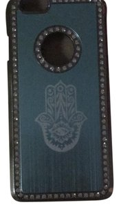 iPhone 6 phone cover with Hamsa and rhinestones rhinestone hamsa iphone6 cover