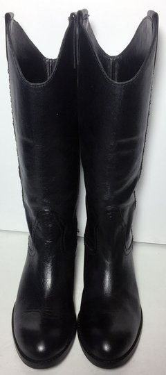 Lucchese Spirit By 7.5 Cowgirl 7.5 Black Boots Image 1