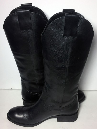 Lucchese Spirit By 7.5 Cowgirl 7.5 Black Boots Image 2