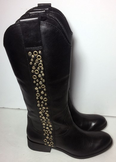 Lucchese Spirit By 7.5 Cowgirl 7.5 Black Boots Image 3