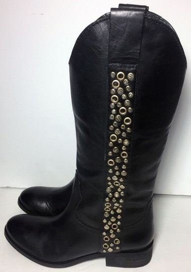 Lucchese Spirit By 7.5 Cowgirl 7.5 Black Boots Image 5