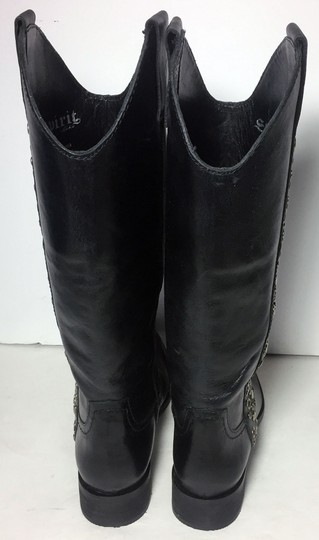 Lucchese Spirit By 7.5 Cowgirl 7.5 Black Boots Image 6