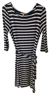 Banana Republic short dress Navy and White Striped on Tradesy