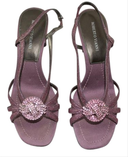 Preload https://img-static.tradesy.com/item/20531030/mauve-strappy-sandal-with-rhinestones-formal-shoes-size-us-7-wide-c-d-0-1-540-540.jpg
