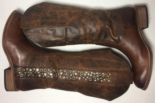 Lucchese Spirit By 6.5 Women 6.5 Brown Boots Image 4