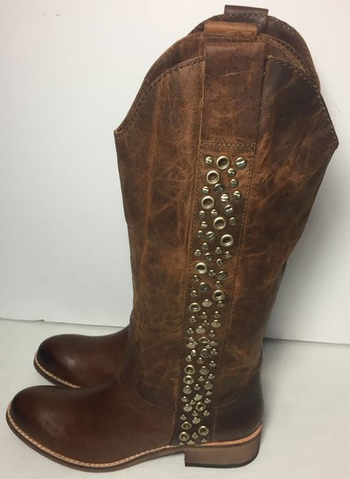 Lucchese Spirit By 6.5 Women 6.5 Brown Boots Image 5