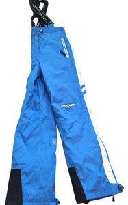 Spyder Women's Straight Pants Blue & White