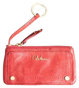 Cole Haan change purse key ring