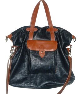 Urban Outfitters Faux Leather School Weekender Hobo Bag