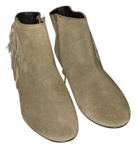 Kelsi Dagger Bootie Green Olive Suede Boots